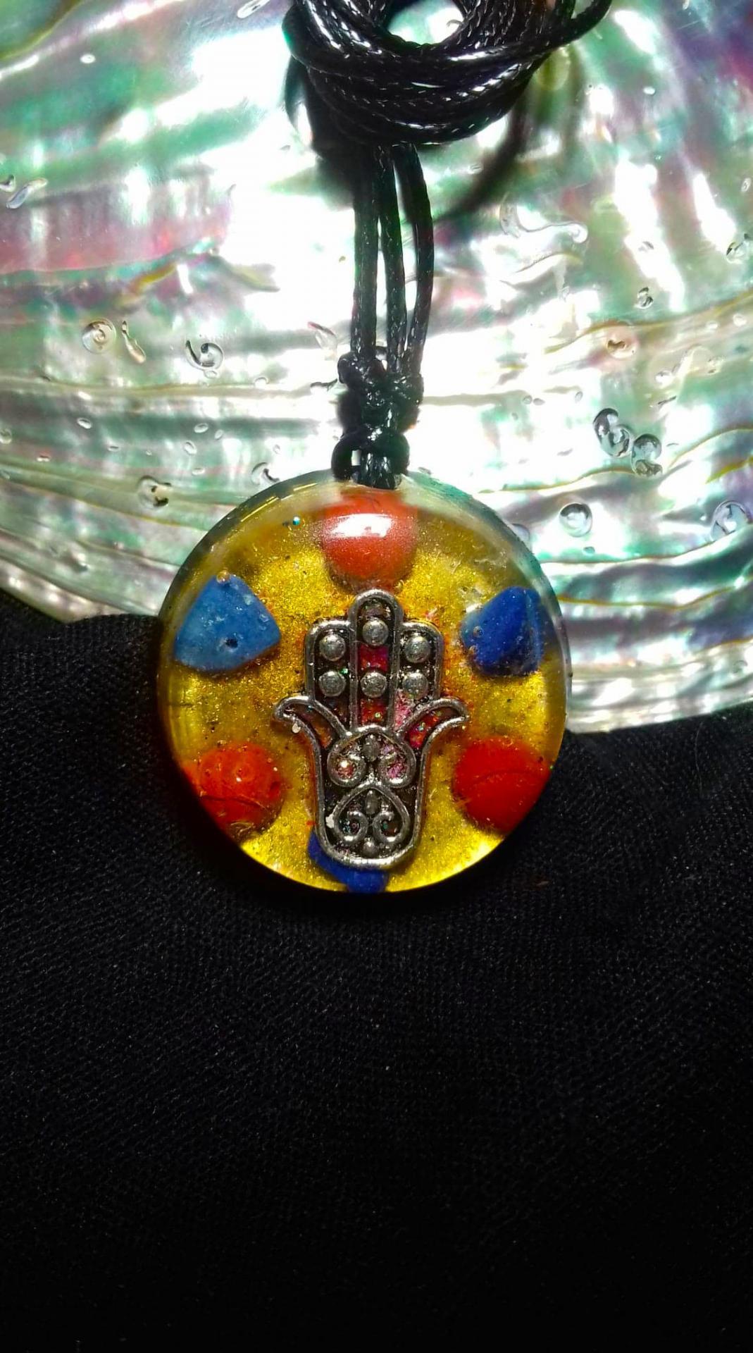 Orgonite pendentif ' Old Secret  '