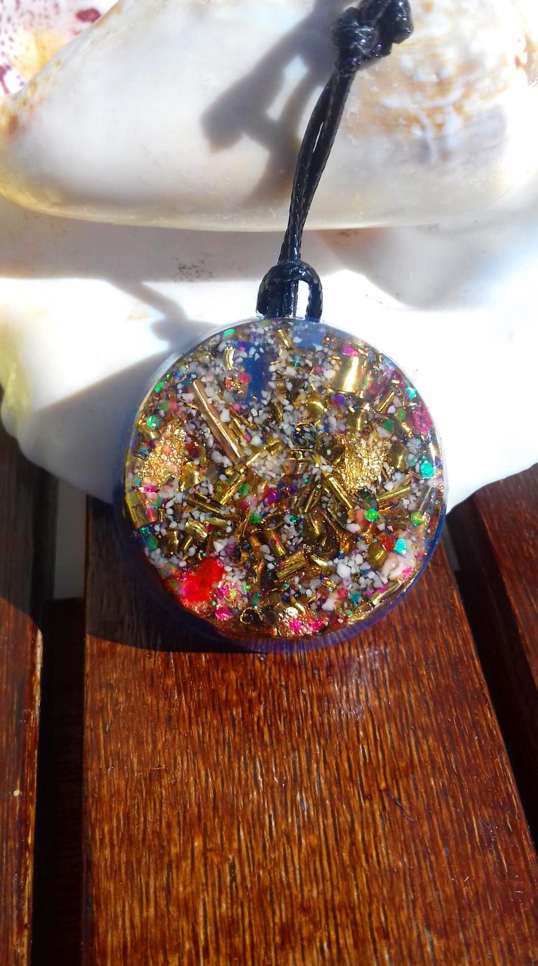Orgonite pendentif ' Fairy Gift '