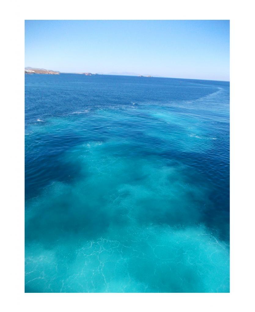 Le Bleu en Grèce