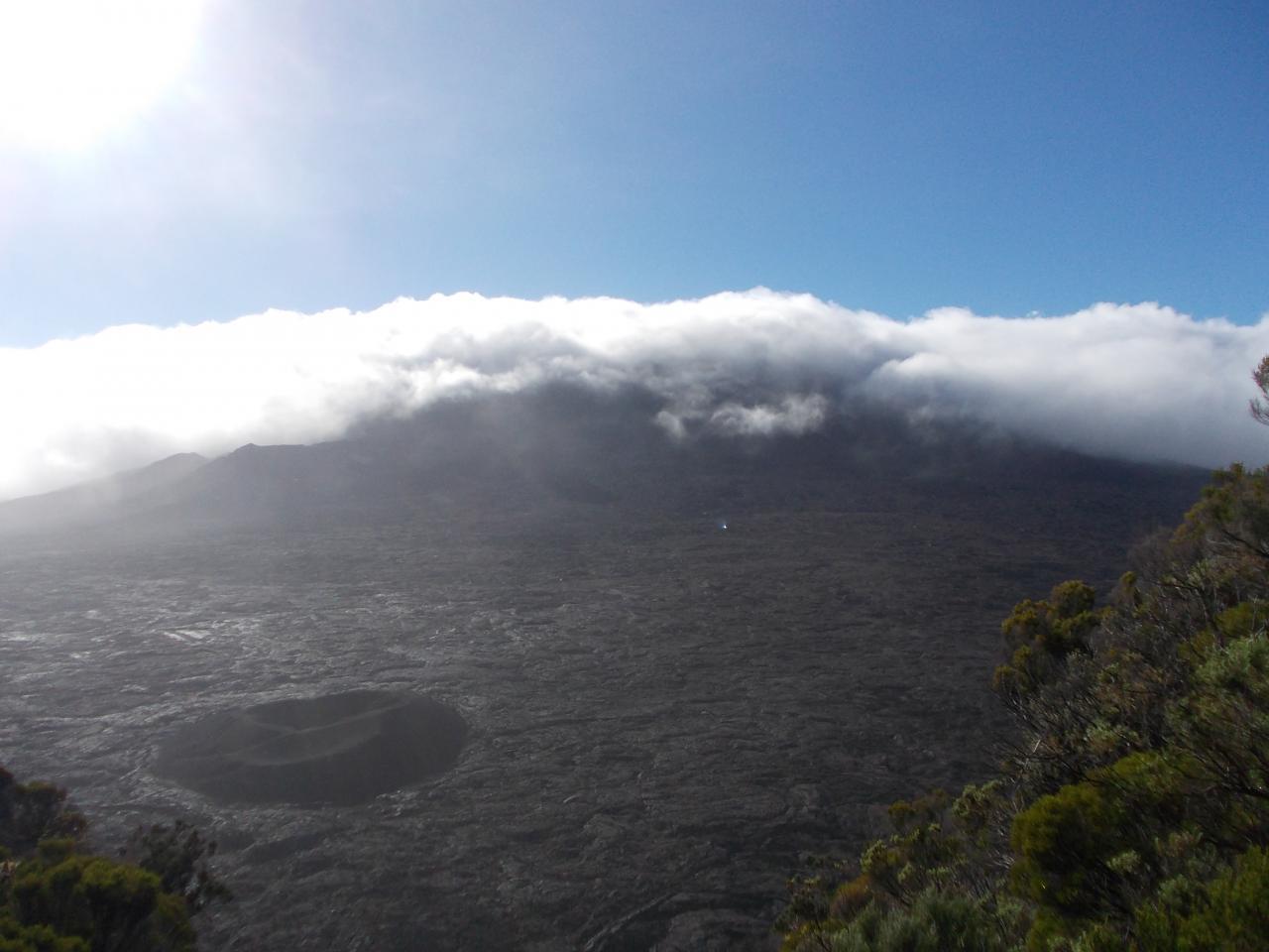 Plaine du volcan, Piton de la Fournaise. Réunion island'