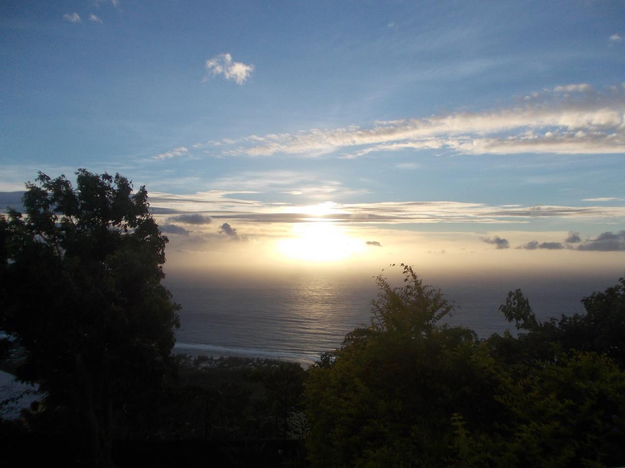 Sunset à Saint Leu'