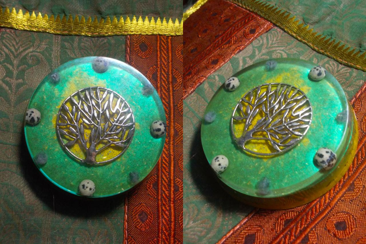 Orgonite ' Brasilian tree 'mini'''