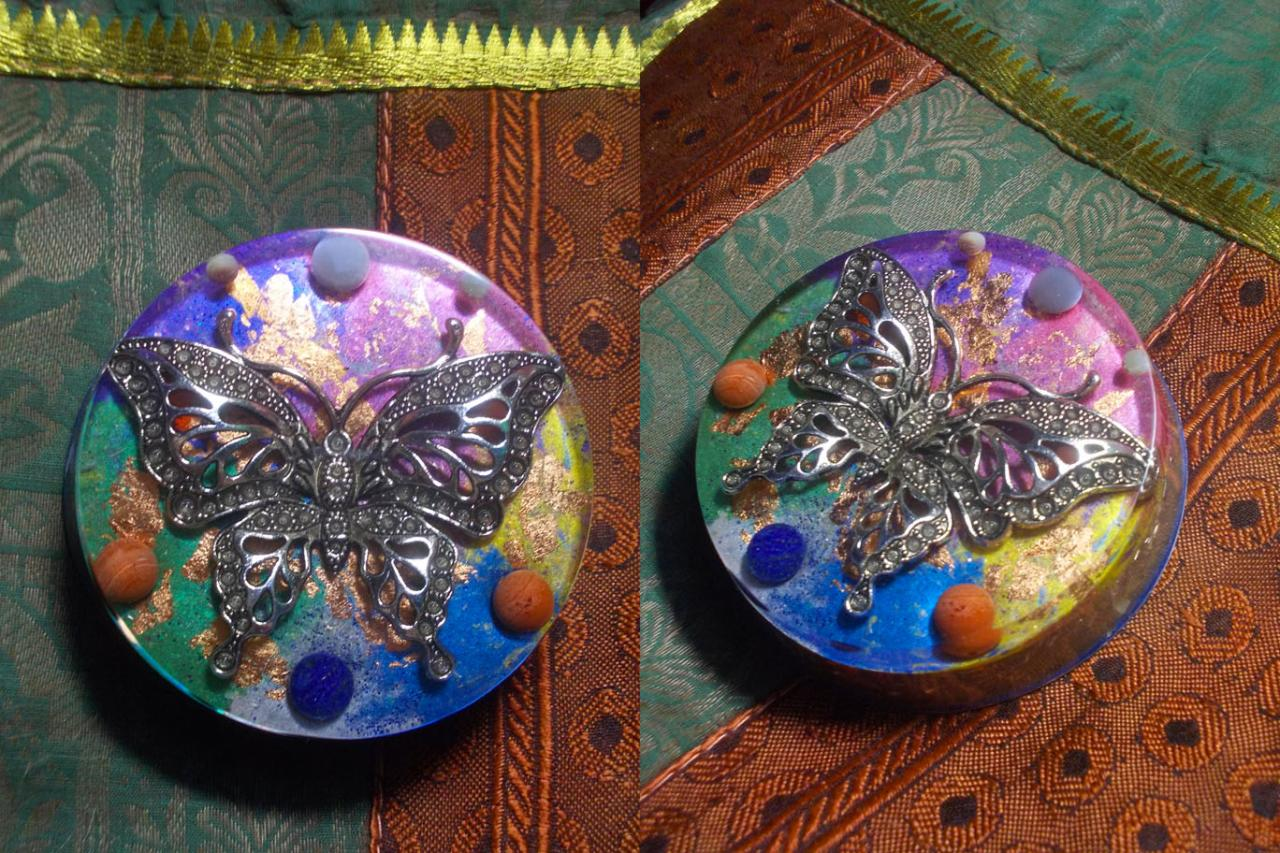 Orgonite ' Happy Butterfly '