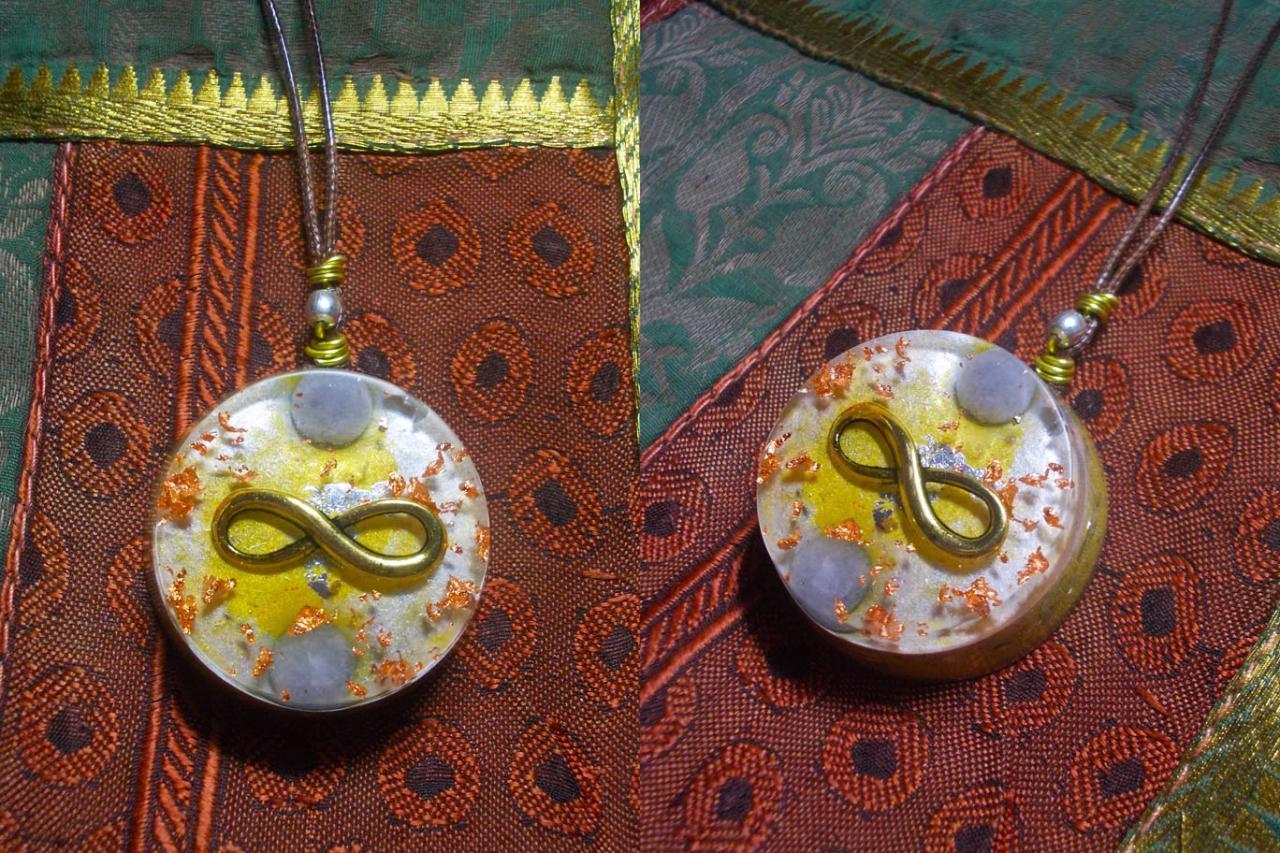 Orgonite pendentif ' Aldîhr'
