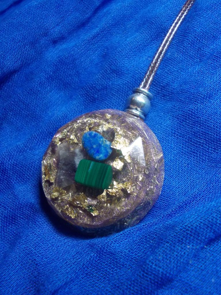 Orgonite pendentif ' Heart healing '
